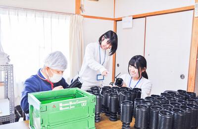 郷原七緒 2018年入社 くらしき作陽大学出身